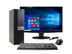 Dell OptiPlex 7040 Desktop Computer PC, 3.30 GHz Intel i7 Quad Core Gen 6, 16GB DDR4 RAM, 2TB Hard Disk Drive (HDD) SATA Hard Drive, Windows 10 Professional 64bit