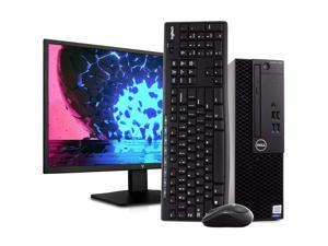 "Dell OptiPlex 3050 PC Desktop Computer, Intel i5-6500 3.4GHz, 8GB RAM, 1TB HDD, Windows 10 Pro, New 23.6"" FHD LED Monitor, New 16GB Flash Drive, Wireless Keyboard & Mouse, DVD, WiFi"