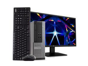 Dell OptiPlex 3020 Small Form Factor Computer PC, 3.20 GHz Intel i5 Quad Core Gen 4, 8GB DDR3 RAM, 500GB Hard Disk Drive (HDD) SATA Hard Drive, Windows 10 Professional 64bit