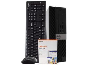 Dell Optiplex 5040 Desktop Computer PC, 3.20 GHz Intel i5 Quad Core Gen 6, 16GB DDR3 RAM, 2TB Hard Disk Drive (HDD) SATA Hard Drive, Windows 10 Professional 64bit