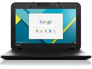 "Lenovo Chromebook N22, 2.16 GHz Intel Celeron, 4GB DDR2 RAM, 16GB SSD Hard Drive, Chrome, 11"" Screen"