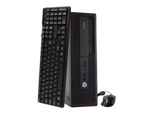 HP EliteDesk 800 G2 Desktop Computer PC, 3.40 GHz Intel i5 Quad Core Gen 6, 8GB DDR4 RAM, 500GB Hard Disk Drive (HDD) SATA Hard Drive, Windows 10 Home 64bit