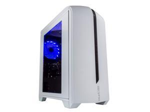 Periphio Portal Gaming PC Desktop Computer Tower, Intel Quad Core i5 3.2GHz, 8GB RAM, 128GB SSD + 500GB 7200 RPM HDD, Windows 10, AMD Radeon RX570 4GB DDR5, HDMI, Wi-Fi