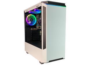 Periphio Portal Gaming PC Desktop Computer Tower, Intel Quad Core i5 3.2GHz, 16GB RAM, 120GB SSD + 500GB 7200 RPM HDD, Windows 10, Nvidia GT1030 2GB, HDMI, Wi-Fi