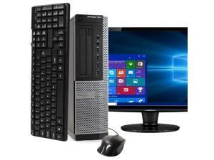 Dell OptiPlex 7010 Desktop Computer PC, 3.20 GHz Intel i5 Quad Core Gen 3, 16GB DDR3 RAM, 1TB SATA Hard Drive, Windows 10 Professional 64 bit (Grade B)