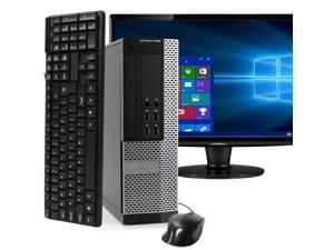 "Dell OptiPlex 9020 Desktop Computer PC, 3.20 GHz Intel i5 Quad Core Gen 4, 8GB DDR3 RAM, 1TB SATA Hard Drive, Windows 10 Professional 64 bit,  24"" Screen"