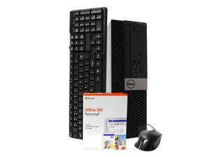 Dell 5040 Desktop Computer, Intel i5-6500 3.2GHz, 16GB RAM, New 1TB SSD, Windows 10 Pro, Microsoft Office 365 Personal, New 16GB Flash Drive, DVD-RW, Keyboard, Mouse, WiFi, Bluetooth
