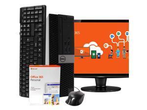 Dell Optiplex 5040 Desktop Computer PC, 3.20 GHz Intel i5 Quad Core Gen 6, 16GB DDR3 RAM, 512GB Solid State Drive (SSD) SSD Hard Drive, Windows 10 Professional 64bit