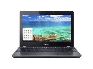 "Acer Chromebook C740-C4PE, 1.60 GHz Intel Celeron, 4GB DDR3 RAM, 16GB SSD Hard Drive, Chrome, 11"" Screen"