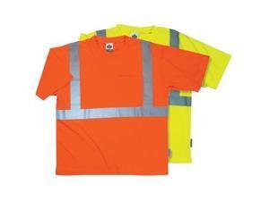 8289 Economy T-Shirt  Lime 3Xlarge