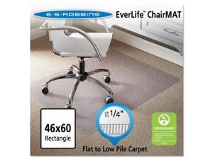 46 X 60 Rectangle Chair Mat, Task Series Anchorbar For Carpet Up To 1/