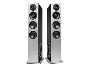 "Definitive Technology Demand Series D17 High-Performance Floorstanding Speakers with Dual 10"" Passive Bass Radiators - Pair (Black)"