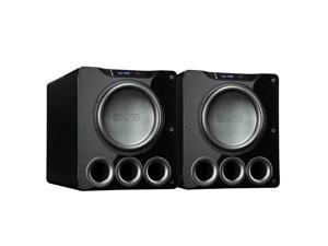 "SVS PB16-Ultra 1500 Watt 16"" Ported Cabinet Subwoofers - Pair (Piano Gloss Black)"