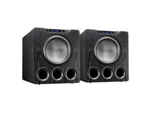 "SVS PB-4000 13.5"" 1200W Ported Box Subwoofers - Pair (Premium Black Ash)"