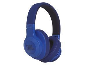 JBL E55BT On-ear Wireless Headphones (Blue)