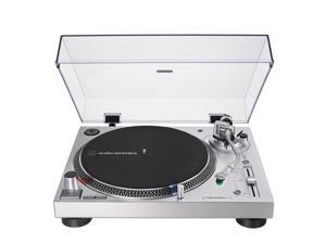 AudioTechnica AT-LP120XUSB-SV Direct-Drive 3-Speed Turntable with USB Output (Silver)