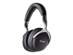 Denon AH-GC25W Over-Ear Wireless Headphones - Black