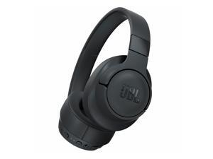 JBL JBLT750BTNCBLKAM TUNE 750BTNC Wireless Headphones - Over-Ear - Headband - Active Noise Cancellation - Bluetooth 4.2 - Foldable - Detachable Cable - Black