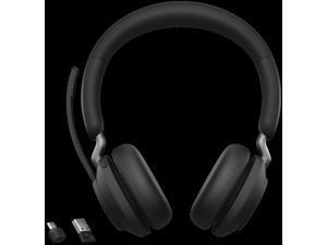 Jabra Evolve2 65 Headset - Mono - USB Type A - Wireless - Bluetooth - Over-the-head - Monaural - Supra-aural - Black
