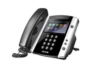 Polycom VVX 600 IP Phone - Cable - Desktop - 1 x Total Line - VoIP - Caller ID - Speakerphone - 2 x Network (RJ-45) - USB - PoE Ports