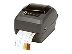 """Zebra GX430t Thermal Transfer Printer - Monochrome - Desktop - Label Print - 4.09"""" Print Width - 6 in/s Mono - 300 dpi - 8 MB - USB - Serial - Parallel - LCD - 1.25"""" Label Width - 39"""" Label Length"""