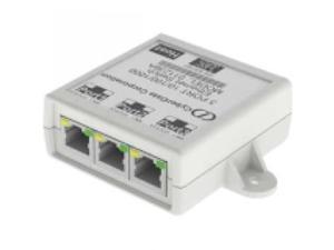 CYBERDATA 011236 3-Port Gigabit Ethernet Switch