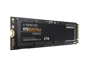 Samsung SSD 970 EVO PLUS 2TB M.2 2280 PCIe Gen 3.0 x4 NVMe 1.3 V-NAND 3-bit MLC 2.0 TB Internal Solid State Drive MZ-V7S2T0BW