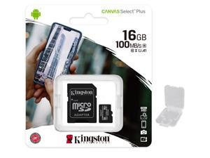 32Mbps // Class 4 Professional Kingston 16GB MicroSDHC ICEMOBILE G2 with custom formatting and Standard SD Adapter!