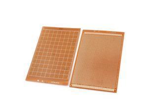 Global Bargains 2 Pcs 12cm x 18cm One Side Universal Prototype PCB Print Circuit Board
