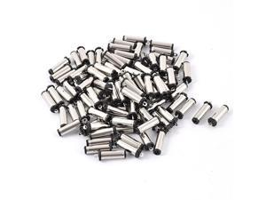 100pcs 5.5mmx2.1mm Solder Laptop Cable DC Power Supply Male Plug Socket Coupler