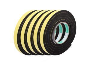 5Pcs 15mm Width 8mm Thickness EVA Single Side Sponge Foam Tape 2 Meters Length