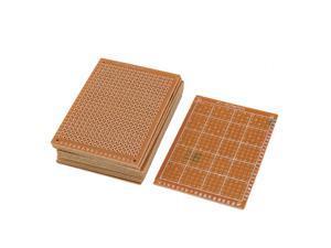 Unique Bargains 12pcs 50mm x 70mm x 1.5mm Copper Single Side Laminate PCB Board