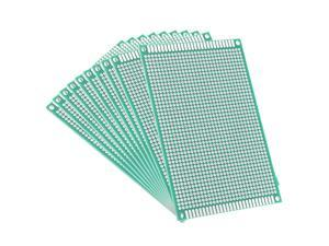 Global Bargains 8x12cm Double Sided Universal Printed Circuit Board for DIY Soldering 10pcs