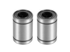 LM10UU Linear Ball Bearings, 10mm Bore Dia, 19mm OD, 29mm Length 2Pcs