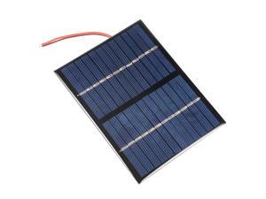 1.5W 12V Solar Panel Module DIY Polysilicon with 140mm Wire for Toys Charger