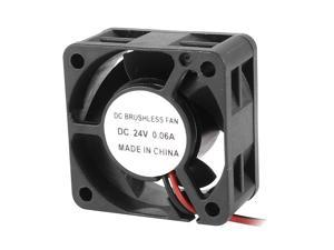 40x20mm DC 24V 0.06A 2 Terminals Connector Cooling Fan for Computer Chipset