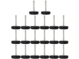 M8 x 50 x 40mm Leveling Feet Adjustable Leveler Floor Protector for Table 20pcs