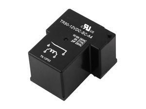 Unique Bargains 12V DC Coil 40A Plug in PCB Relay 4 Pin TR90-12VDC-SC-A4