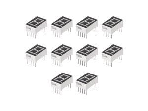 Display Digital Tube Module 1 Bit Common Cathode Red LED for Arduino MCU 10pcs