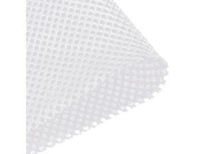 """White Speaker Mesh Grill Stereo Fabric Dustproof 50cm x 160cm 20"""" x 63"""""""