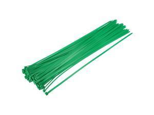 Cable Zip Ties 500mmx4.8mm Self-Locking Nylon Tie Wraps Green 60pcs