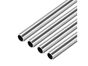 304 Stainless Steel Round Tubing 3mm OD 0.8mm Wall Thickness 250mm Length