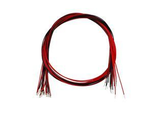 10pcs Prewired 0603 Red SMD LED Light Emitting Diode - DC 1.8-1.9V Micro Soldered Mini LED Light