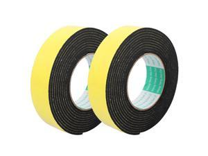 2pcs Single Side Shockproof Foam Tape Adhesive Sponge Tape 35mm Wide x 4M Length
