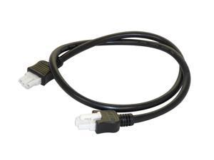 "Cooper Lighting - Halo - 24"" HU103MB - Black - Daisy Chain Connector For HU10 Series"