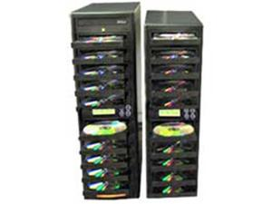 Produplicator 20DVD DVD CD Duplicator - Copier 1 to 20 20X burners with 250GB Removable HDD