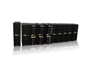 Produplicator 100DVD DVD CD Duplicator - Copier 1 to 100 20X burners with 750GB Removable HDD