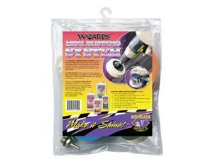 Wizard 11250 Mini Buffing System 3 x 1 in.