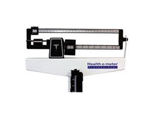 Health O Meter Physician Beam Scale with Height Rod & Wheels