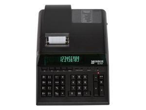 Monroe MNE8145XB 14 Digit Heavy Duty Calculator, Black